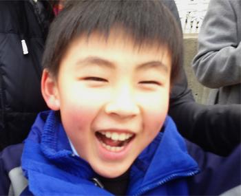 福島の子供たち