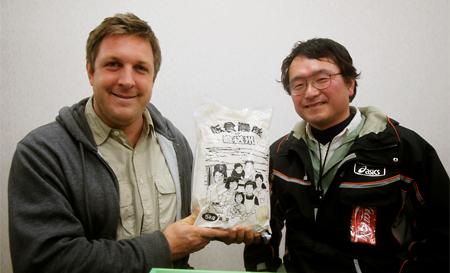 米農家の組合との会合