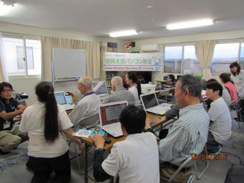 参加者は小学生を含め17名。インストラクターはSAP Japan TEARS teamのボランティアの皆さん。今回も東京からはるばる駆けつけてくれました。