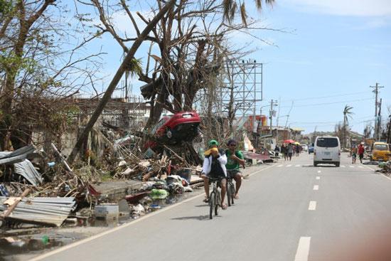 フィリピン被災地