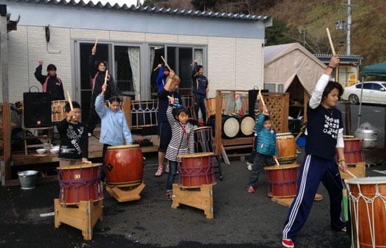 和太鼓を楽しみました