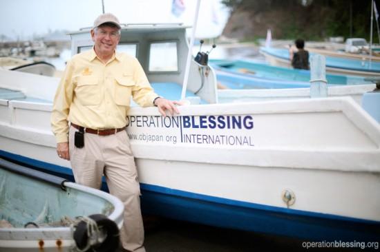 オペレーション・ブレッシングが世界各地で展開する災害救援活動は皆様のご支援から始まります。