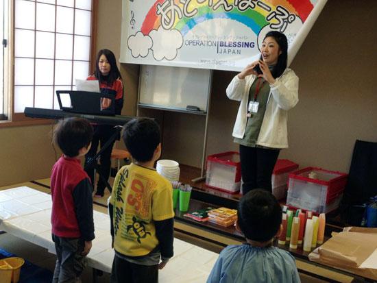 この日は幼稚園児から中学生まで合計22人の子どもたちが集まりました。