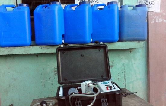 水の浄水器
