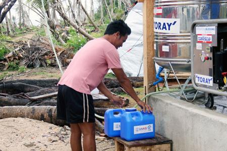 フィリピン支援活動報告