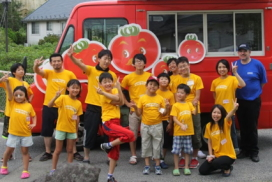 福島の子どもたちを招いて「夏休みの思い出」をプレゼント