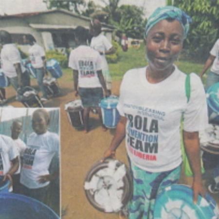 メディア掲載情報:11月30日クリスチャン新聞にエボラ出血熱緊急支援が掲載されました