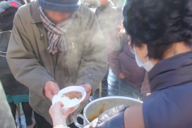 厳冬-あまりに過酷な路上生活 宮城県仙台市