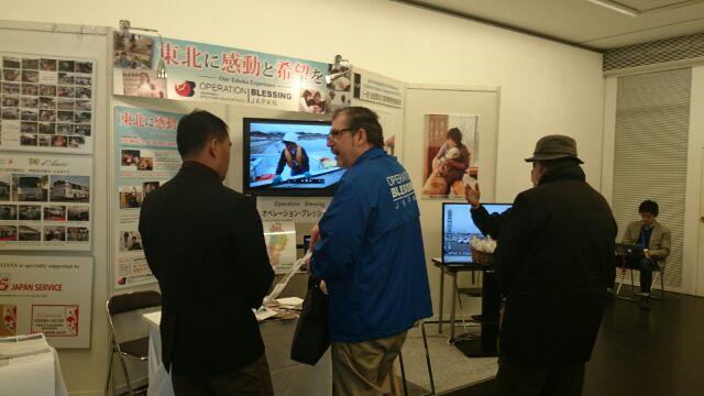 仙台メディアテークで特設ブース展示をしました