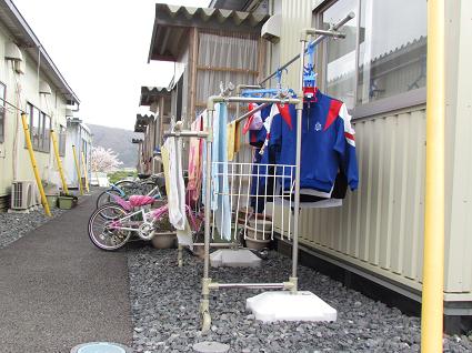宮城県石巻市 追波川仮設住宅を訪問