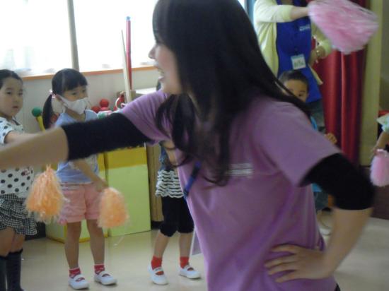 南相馬 子どもたちとポンポンダンス