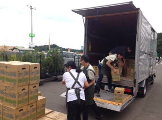 茨城県常総市へ向けて 東日本豪雨災害支援