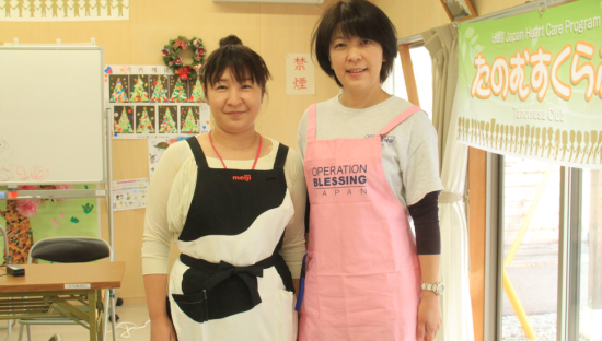 【東日本大震災:心のケア】冬を前に健康的な生活を♪