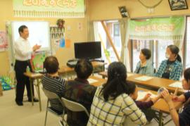【東日本大震災:心のケア】明治さんと冬を前に免疫力をアップ♪