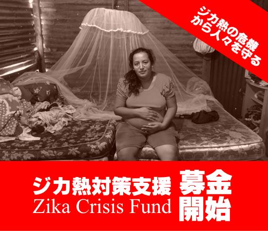 【募金開始】ジカ熱対策支援【中南米カリブ地域で猛威】