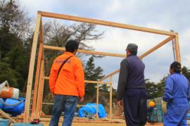 【若手漁師育成プロジェクト】野々島に新たな漁師小屋を設営中!