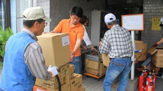 【熊本地震支援】OBJ宅急便・熊本市内で活躍