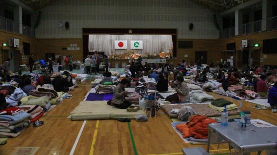 【熊本地震支援】OBJ宅急便・阿蘇郡西原村の避難所へ