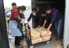 【熊本地震支援】東北から愛のOBJ宅急便