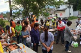 【熊本地震支援】断層直下 阿蘇狩尾地区での炊き出し
