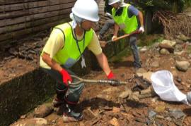 【熊本地震 復興支援】益城町でのがれき撤去