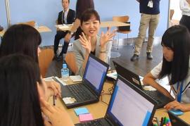 【ビデオ】夏休み特別授業!小高商業高校の学生がSAPジャパンを企業訪問