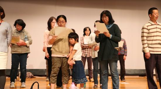 【福島:復興支援】南相馬に広がれ歌声 RISE UPゴスペル教室