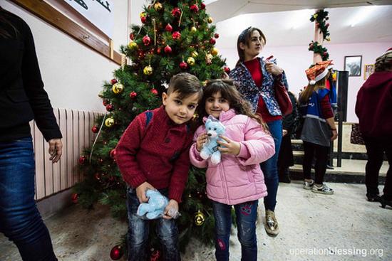 【国際NGOの働き】クリスマスの喜びを避難民の子どもたちに