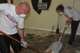 【世界の国々で】ハリケーン「マシュー」災害支援活動