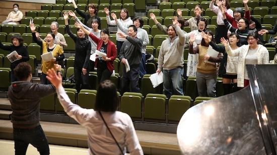 【福島:復興支援】九州と東北ーゴスペルで生まれた希望の輪