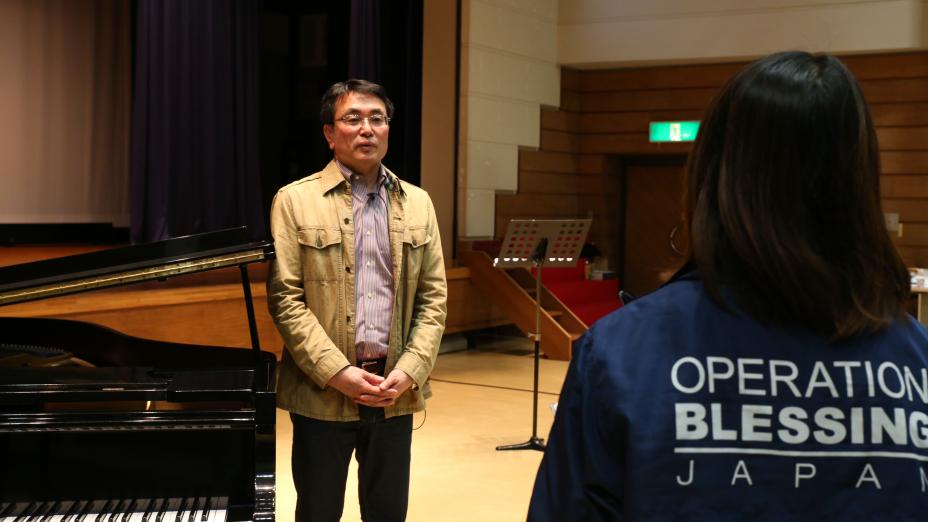 【特別インタビュー】南相馬Rise Upゴスペル教室に 仙台ゴスペルフェスティバル実行委員長 永井信義先生を迎えて