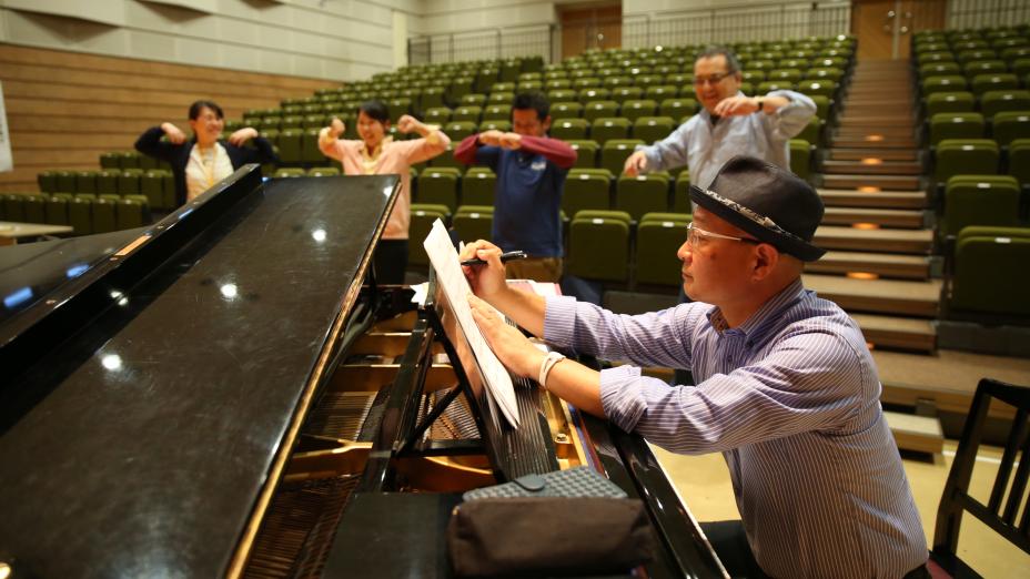 【特別インタビュー】末松潤一朗さん 南相馬ライズアップゴスペル教室ピアニストに聞く