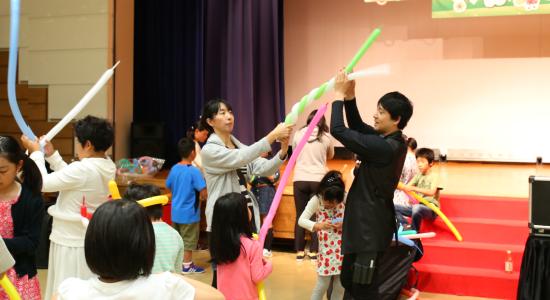 【福島復興支援】子どもたちの創造のつばさを育てています