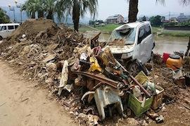 【九州北部豪雨災害】終わらない土砂との戦い