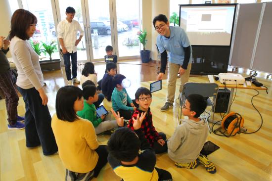 【福島復興支援】自分で考えて試してみて ロボットプログラミング教室