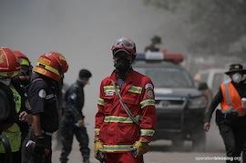 【グアテマラ火山噴火】現地チームによる緊急支援活動の模様