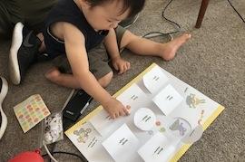 【福島復興支援】幼児教室『タッチでえいご!』