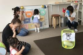 【福島復興支援】OBJ幼児教室『タッチでえいご③』