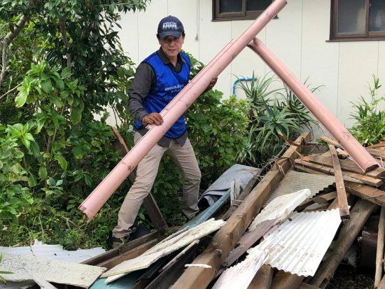 【千葉台風15号災害】洲崎での支援活動開始