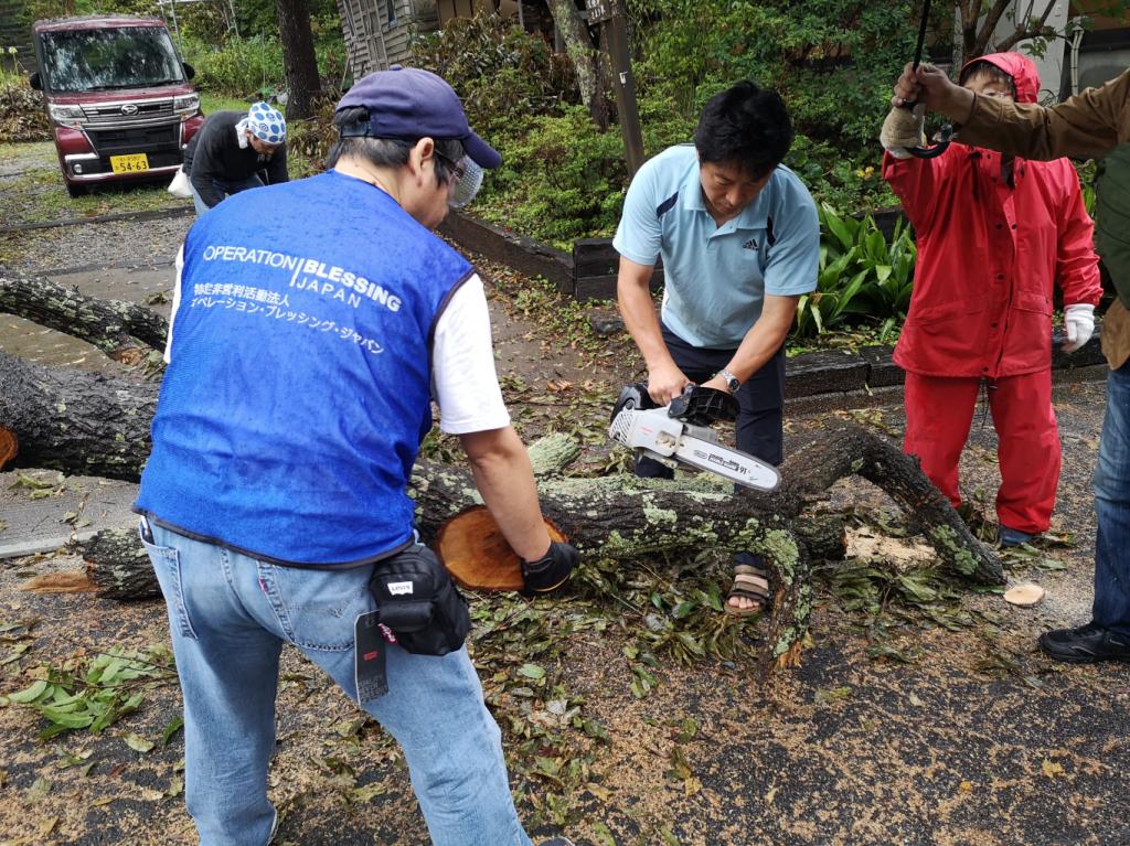 【9月16日】千葉台風15号災害支援