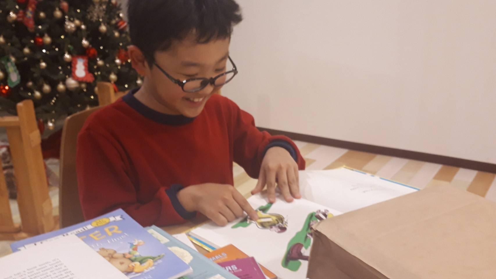【オレゴンからの贈り物】絵本を寄贈して頂きました