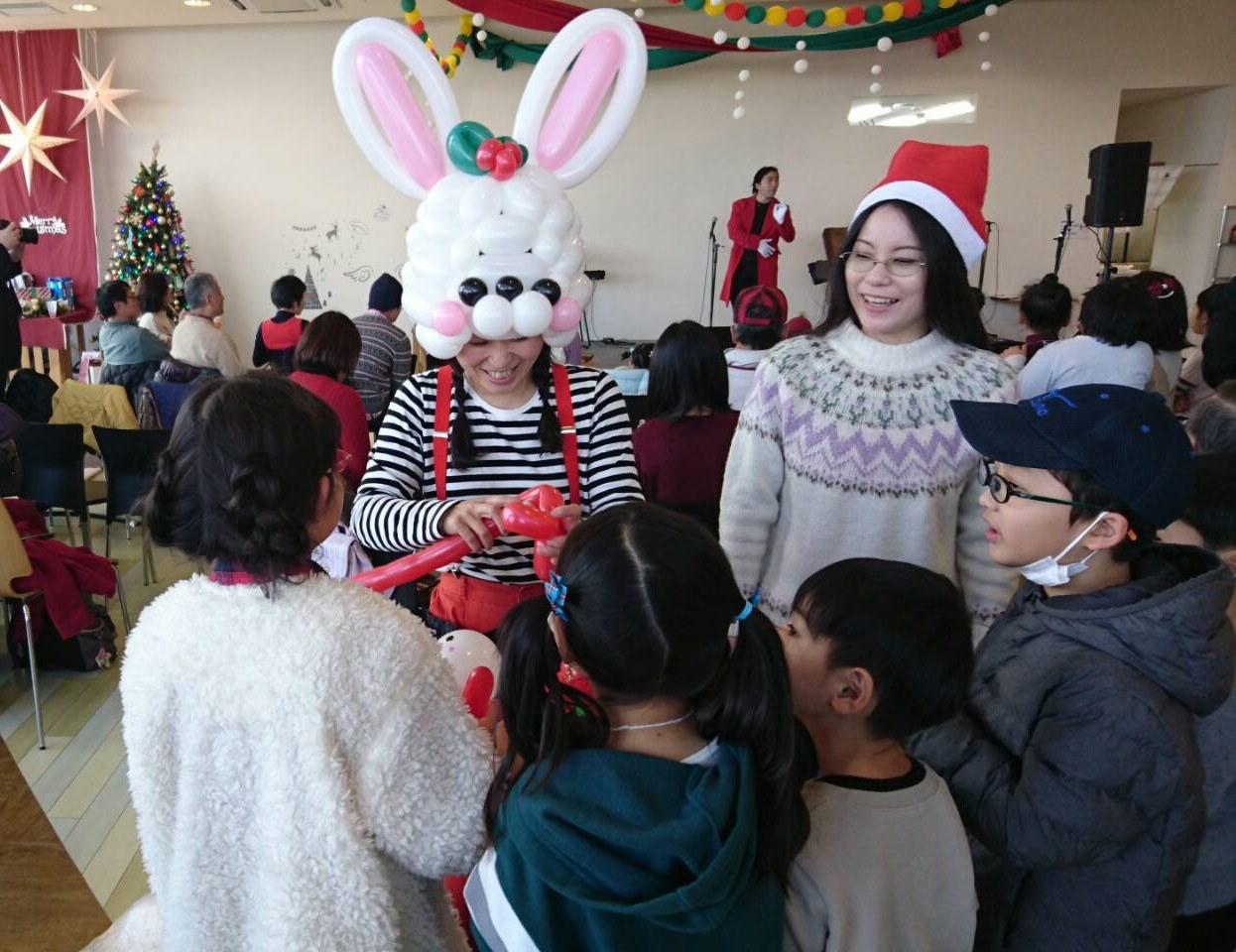 OBJみんなのクリスマスパーティー開催