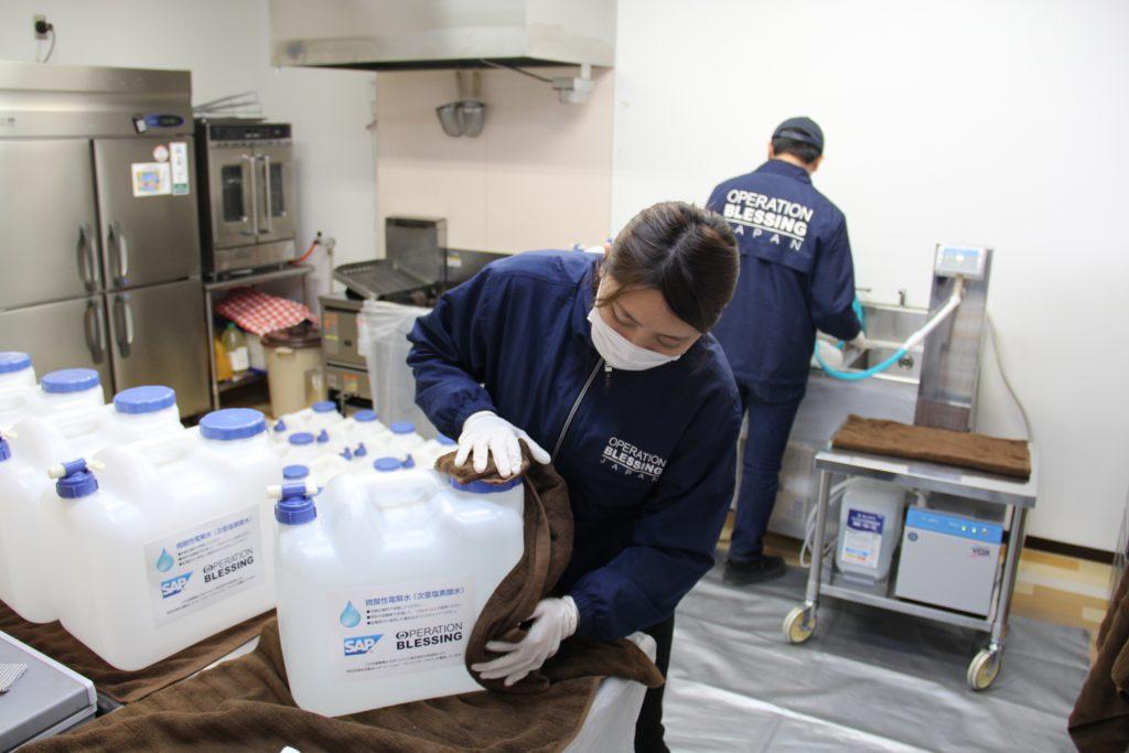 除菌水配布プロジェクト