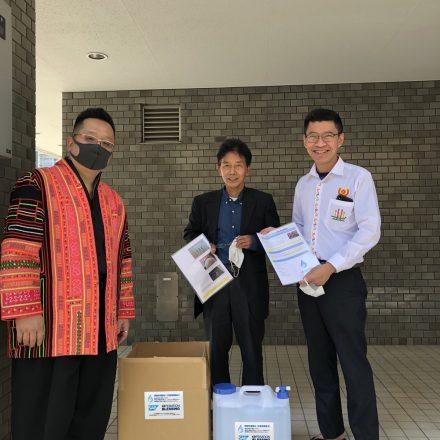 【緊急コロナウィルス対策支援】除菌水配布プロジェクト進行中