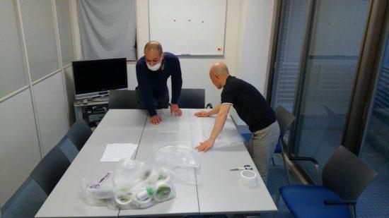 【コロナ対策支援】 医療従事者支える防護服手作り、除菌水も活用