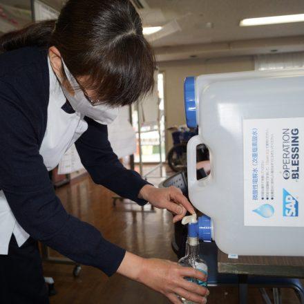 【コロナウイルス対策支援】福祉崩壊を食い止めるために除菌水を