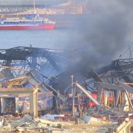 ベイルート爆発事故犠牲者へのケア