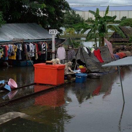【カンボジア】大雨で各地で洪水被害が広がる