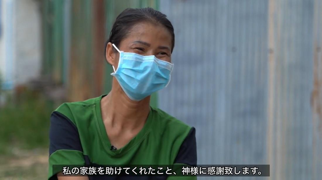 コロナ禍の生活困窮 カンボジア