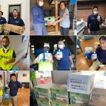 九州キリスト教災害支援センター支援物資